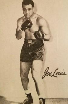 1947 Bond Bread D305 Joe Louis Boxing