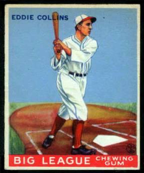 Eddie Collins 1933 Goudey