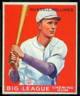 Russell Rollings 1933 Goudey