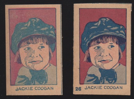 Jackie Coogan W512 Number