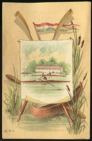 R813 Rowing Trade Card No. 211 Set