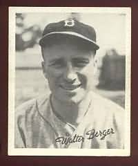 Wally Berger 1936 Goudey