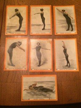 1913 T221 Pan Handle Scrap Tobacco Women Swimmers