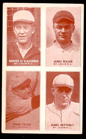 1929-30 Four-on-One Exhibits Cardinals