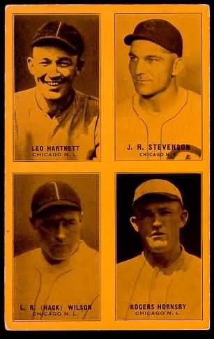 1931-32 Exhibit Cubs