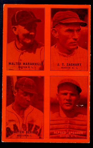 1933 Exhibit Braves