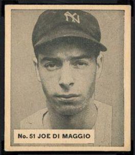 1936 World Wide Gum Joe DiMaggio