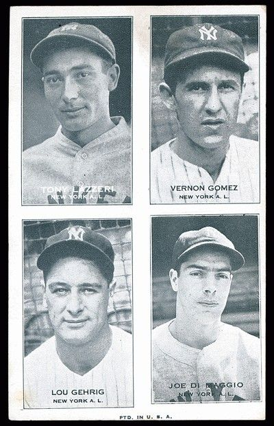 1937 Exhibit Yankees