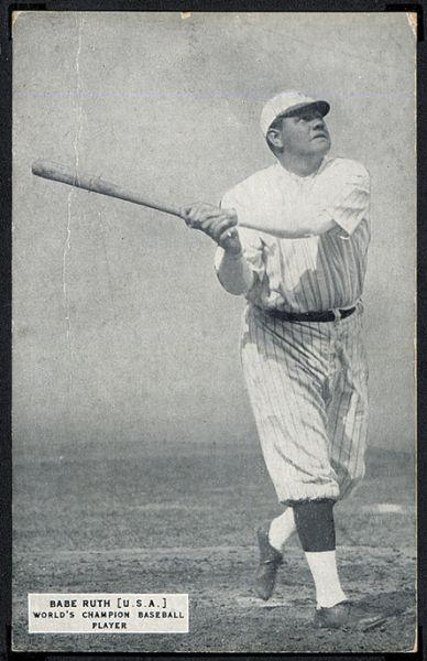 Babe Ruth 1925 Exhibit Champions