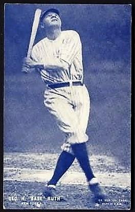 Babe Ruth 1928 Exhibit