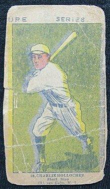 Charles Hollocher W515 Strip Card Scrap