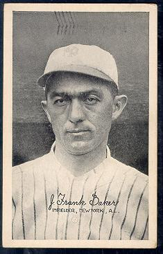 Home Run Baker 1922 Exhibit