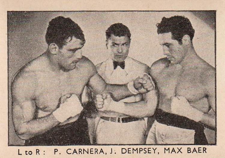 Amalgamated Press Sports Champions Dempsey Baer Carnera