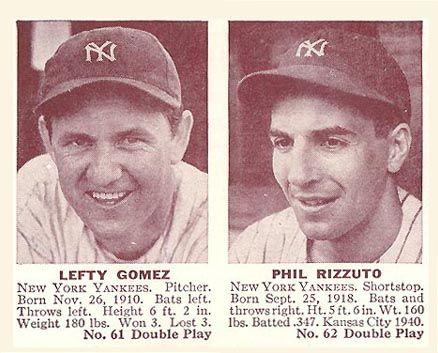 1941 Double Play Gomez-Rizzuto