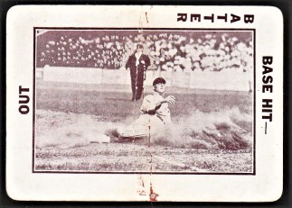 Ty Cobb 1913 National Game Card