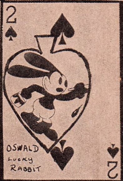 W565 Oswald the Lucky Rabbit