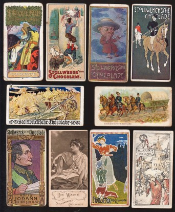 Stollwerck Cards - Fronts